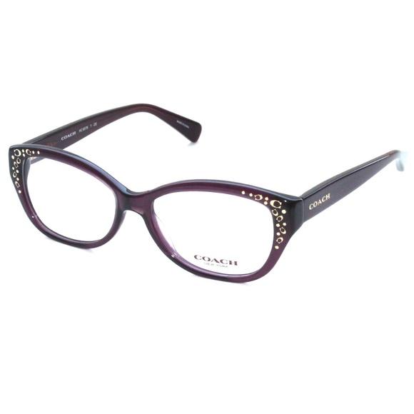 658365700fc4 Coach Accessories   Eyeglasses Hc6076 T 5043purple 5115   Poshmark